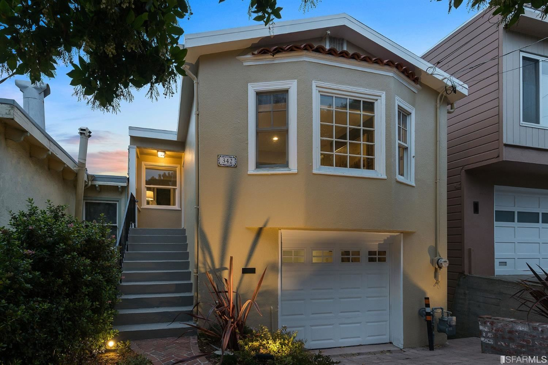 342 Edna Street, San Francisco, CA 94112 - #: 421538727