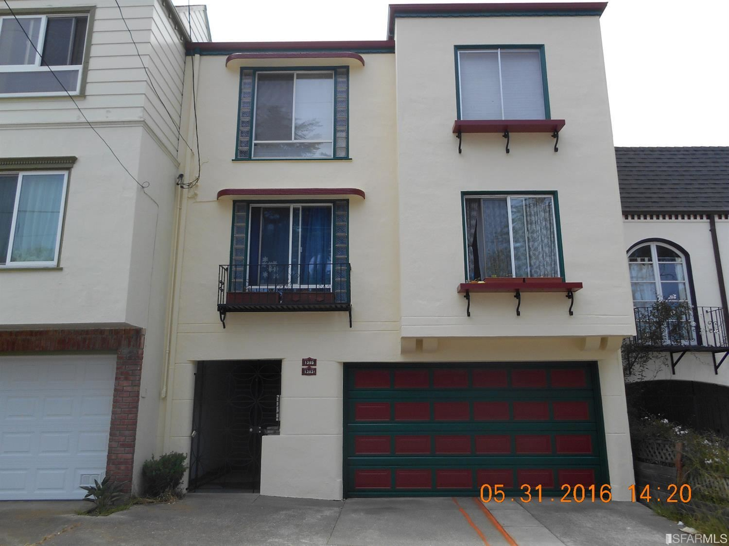 1383 1385 37TH Avenue, San Francisco, CA 94122 - #: 421545774
