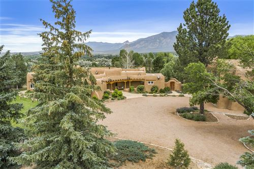 Photo of 740 Cruz Alta Road, Taos, NM 87571 (MLS # 202001139)