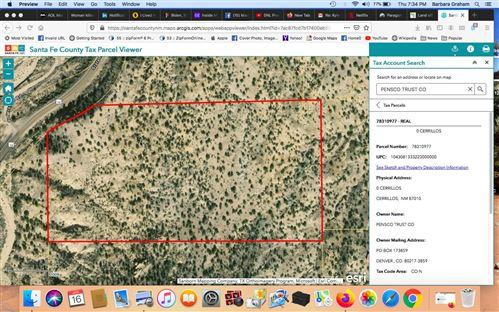 Photo of 18 Acres Off NM 14, Cerrillos, Cerrillos, NM 87010 (MLS # 202000216)