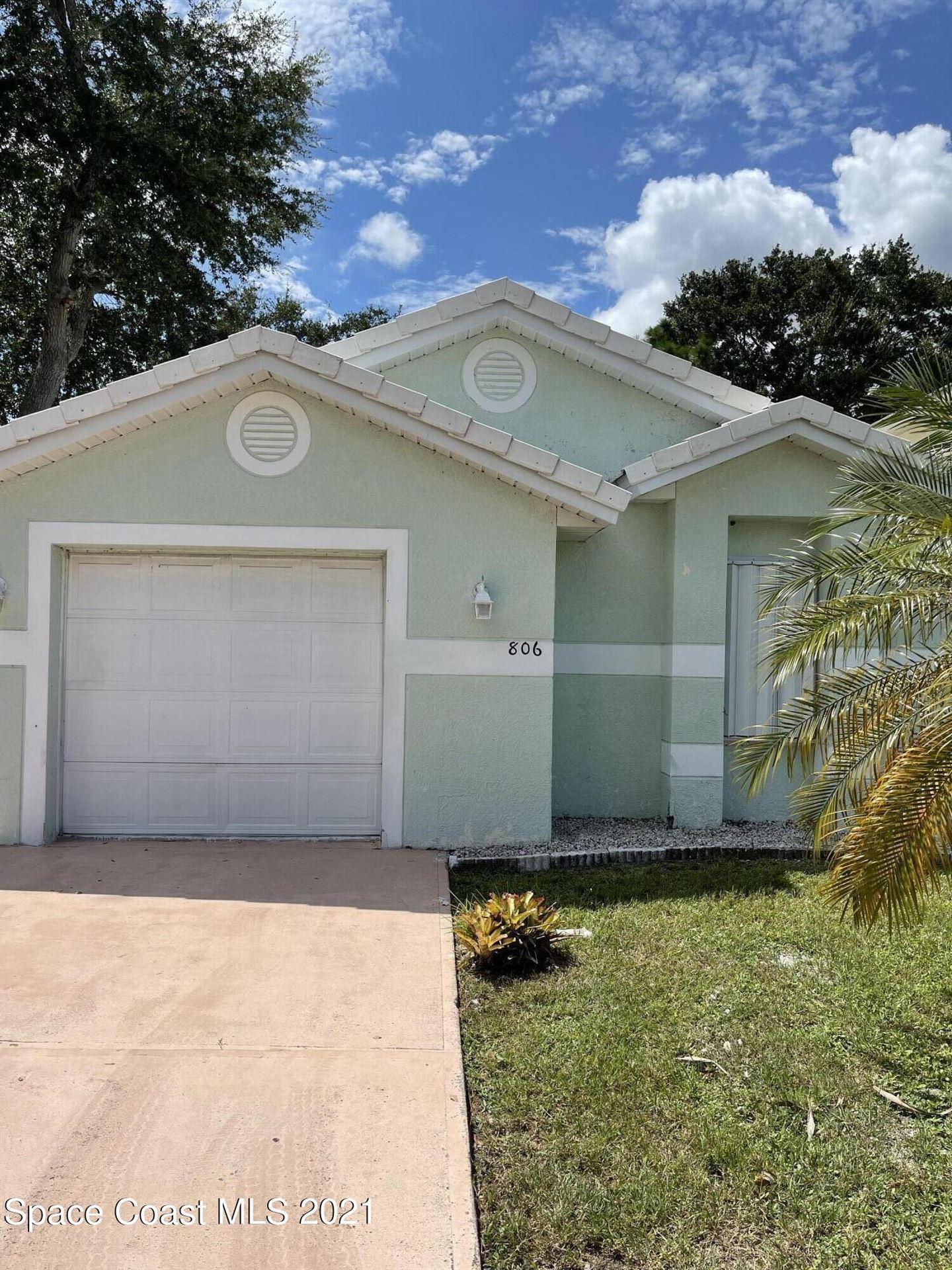 806 Bracken Terrace, Palm Bay, FL 32905 - #: 915001
