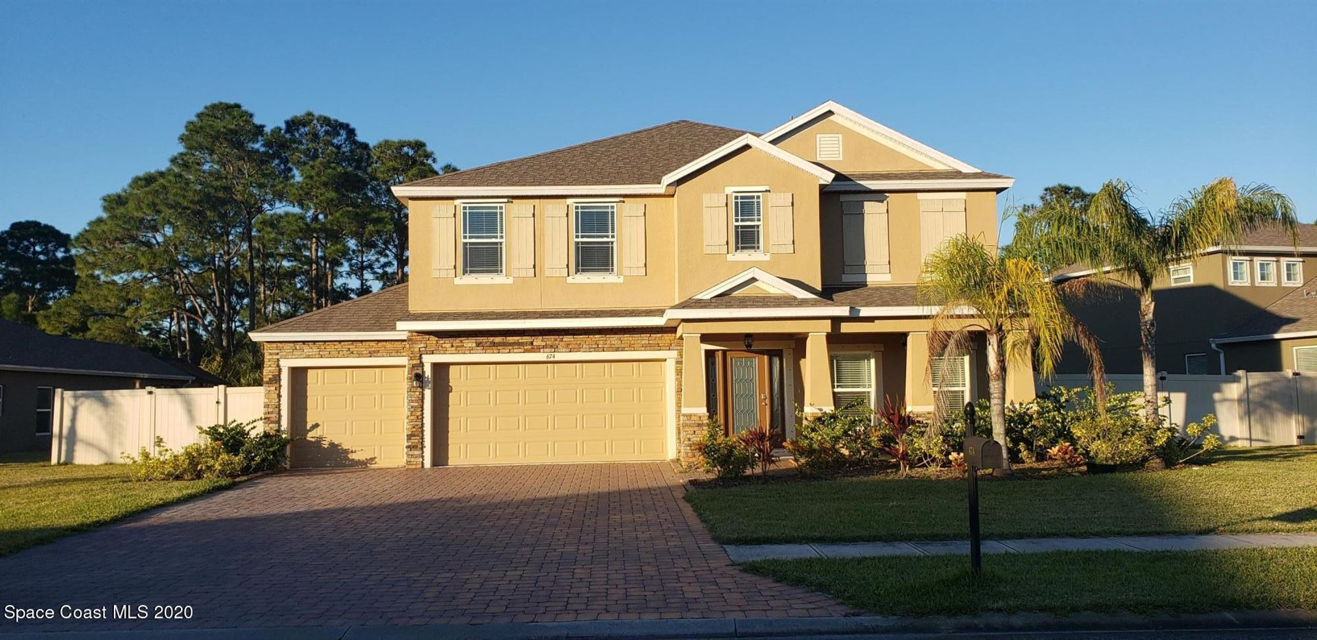 674 Easton Forest Circle, Palm Bay, FL 32909 - #: 892007