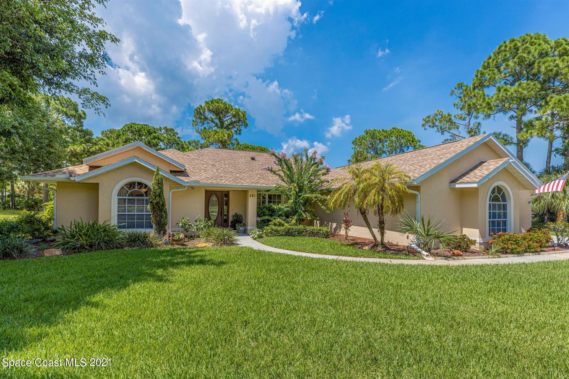 381 Brightwater Drive, Palm Bay, FL 32909 - #: 911037