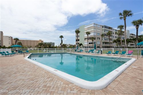Photo of 2020 N Atlantic Avenue #105, Cocoa Beach, FL 32931 (MLS # 910094)