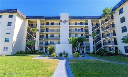 Photo of 4570 Ocean Beach Boulevard #201, Cocoa Beach, FL 32931 (MLS # 881099)