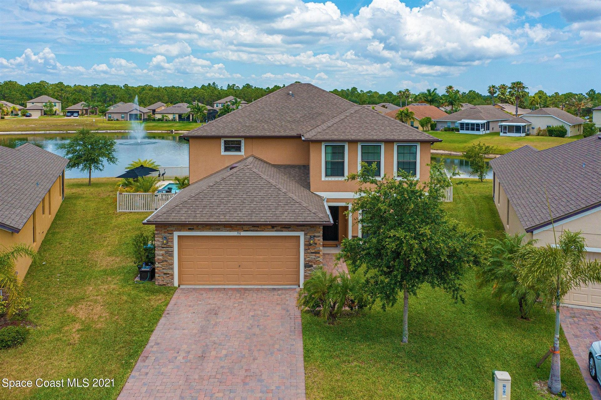 791 Dillard Drive, Palm Bay, FL 32909 - #: 910101
