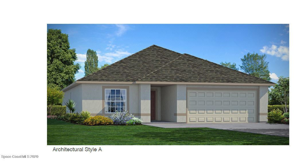 1036 SW Corbin Circle, Palm Bay, FL 32908 - #: 889102