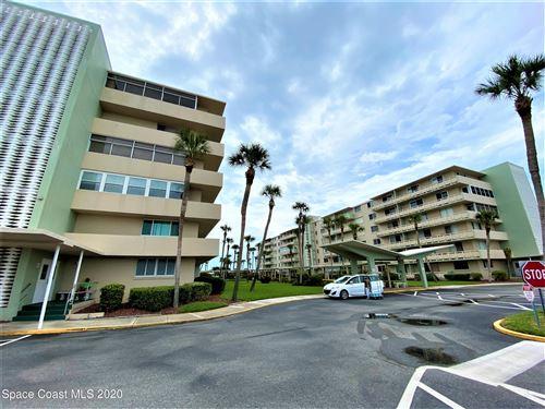 Photo of 2020 N Atlantic Avenue #107n, Cocoa Beach, FL 32931 (MLS # 898111)