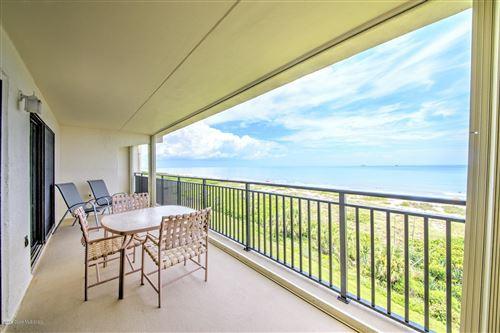 Photo of 3060 N Atlantic Avenue #606, Cocoa Beach, FL 32931 (MLS # 880115)