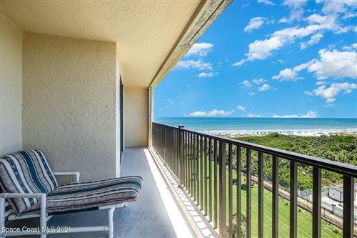 Photo of 1830 N Atlantic Avenue #806, Cocoa Beach, FL 32931 (MLS # 904117)