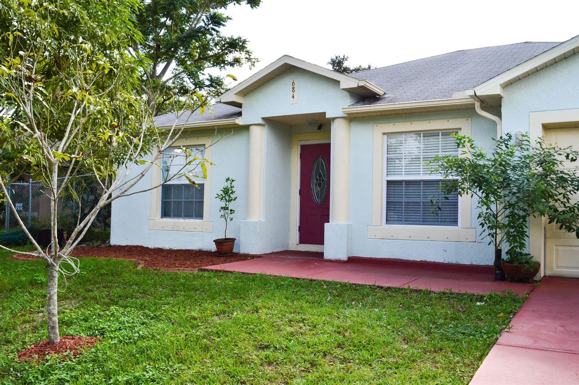 684 NW Elmont Street, Palm Bay, FL 32907 - #: 890120