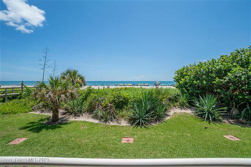 Photo of 15 N Atlantic Avenue #105, Cocoa Beach, FL 32931 (MLS # 912130)