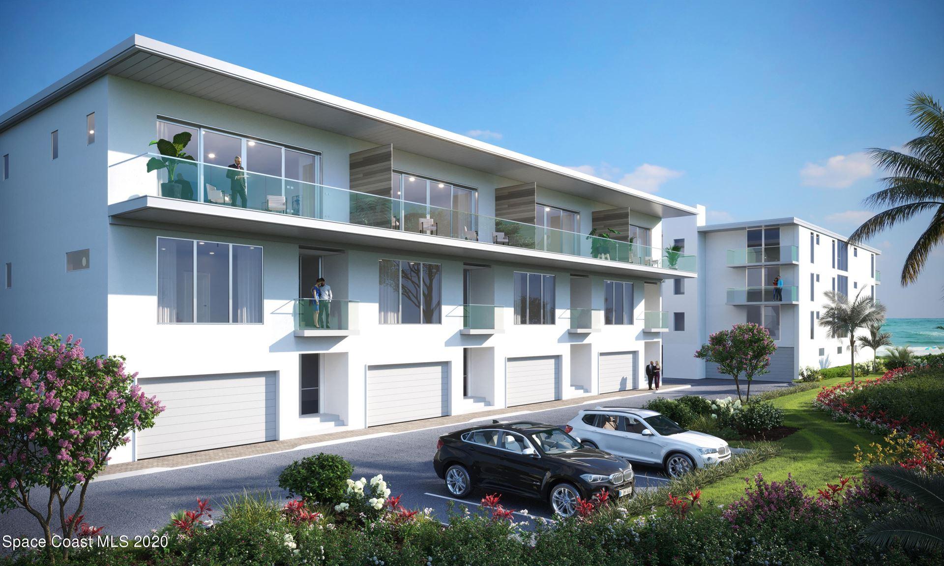 405 N Miramar Avenue #Villa 4, Indialantic, FL 32903 - #: 889138