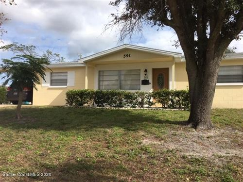 Photo of 591 Plymouth Street, Melbourne, FL 32935 (MLS # 866146)