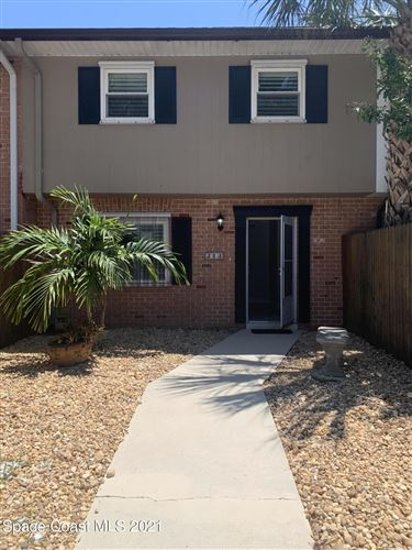 Photo of 213 Canaveral Beach Boulevard, Cape Canaveral, FL 32920 (MLS # 904147)
