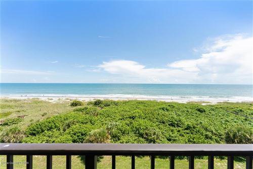 Photo of 3170 N Atlantic Avenue #605, Cocoa Beach, FL 32931 (MLS # 885152)