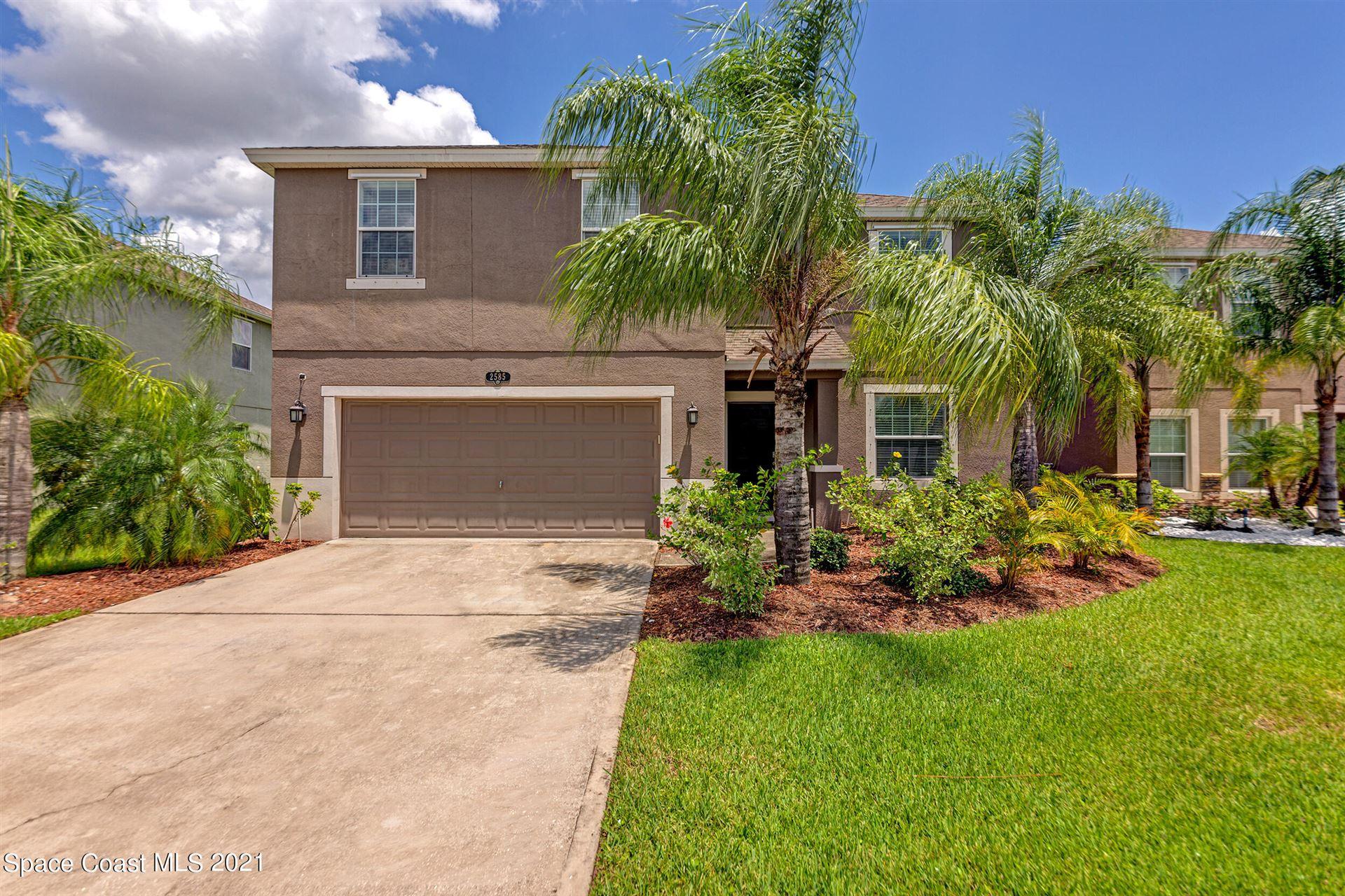 2585 Snapdragon Drive, Palm Bay, FL 32907 - #: 911157