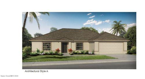 Photo of 579 SE Gallagher Street, Palm Bay, FL 32908 (MLS # 872170)