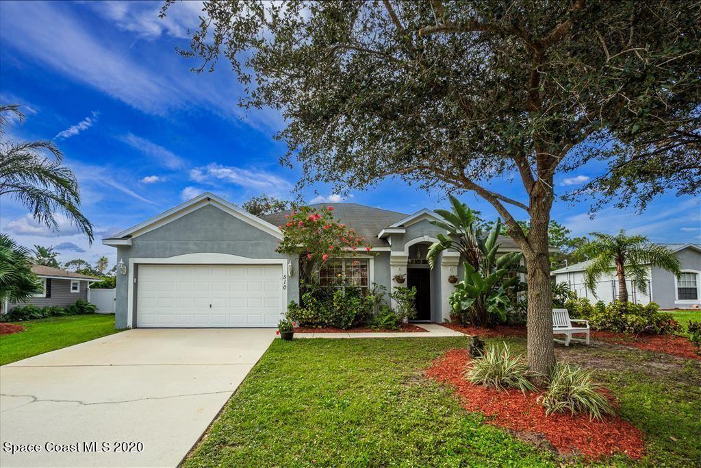 510 SE Charlotta Avenue, Palm Bay, FL 32909 - #: 882176