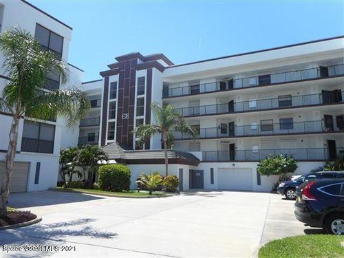 Photo of 3611 S Banana River Boulevard #Ce305, Cocoa Beach, FL 32931 (MLS # 904185)