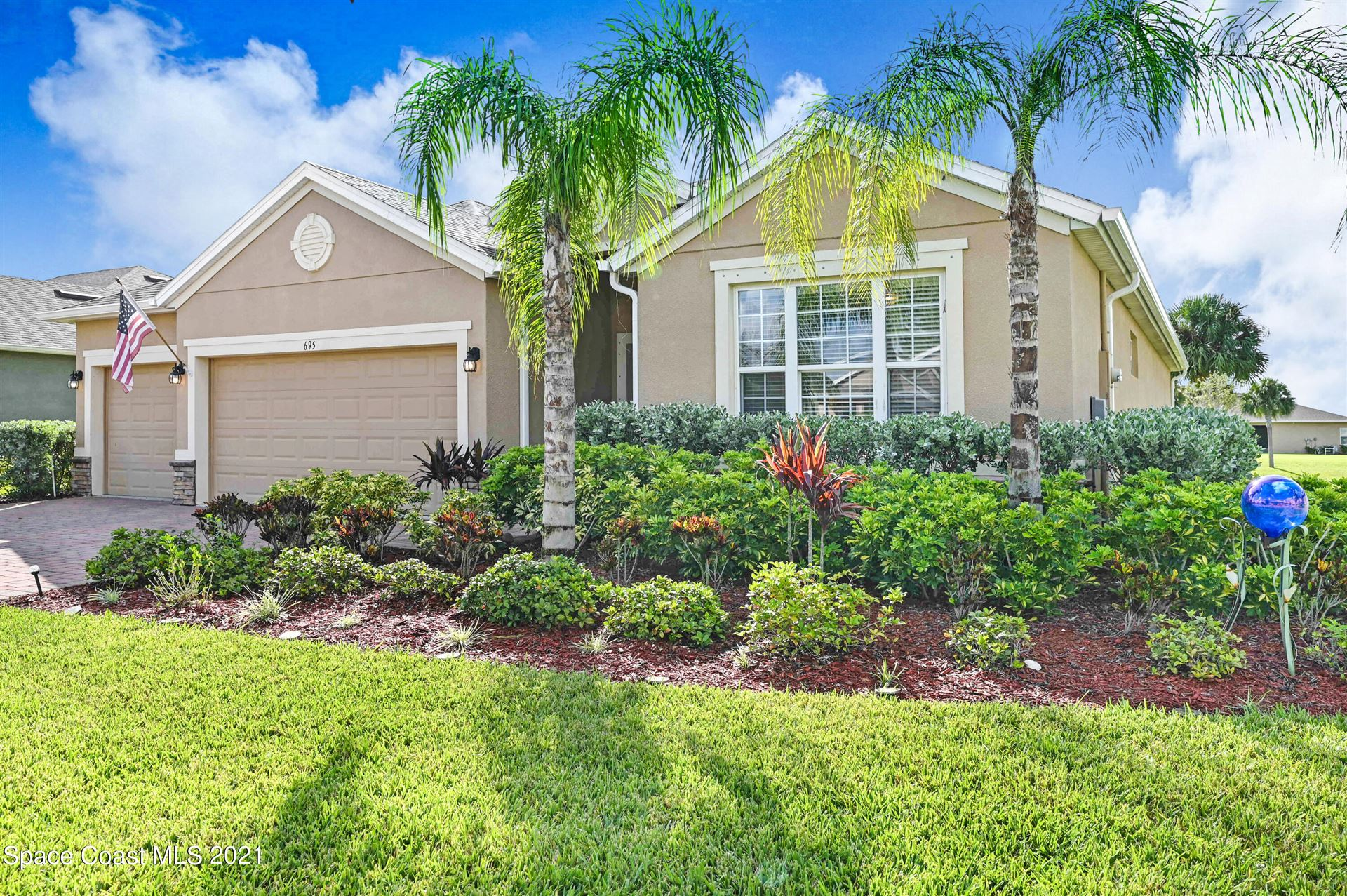 695 Easton Forest Circle, Palm Bay, FL 32909 - #: 916215