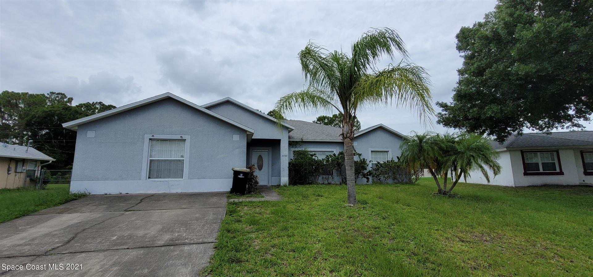 2242 Mantilla Avenue, Palm Bay, FL 32909 - #: 910245