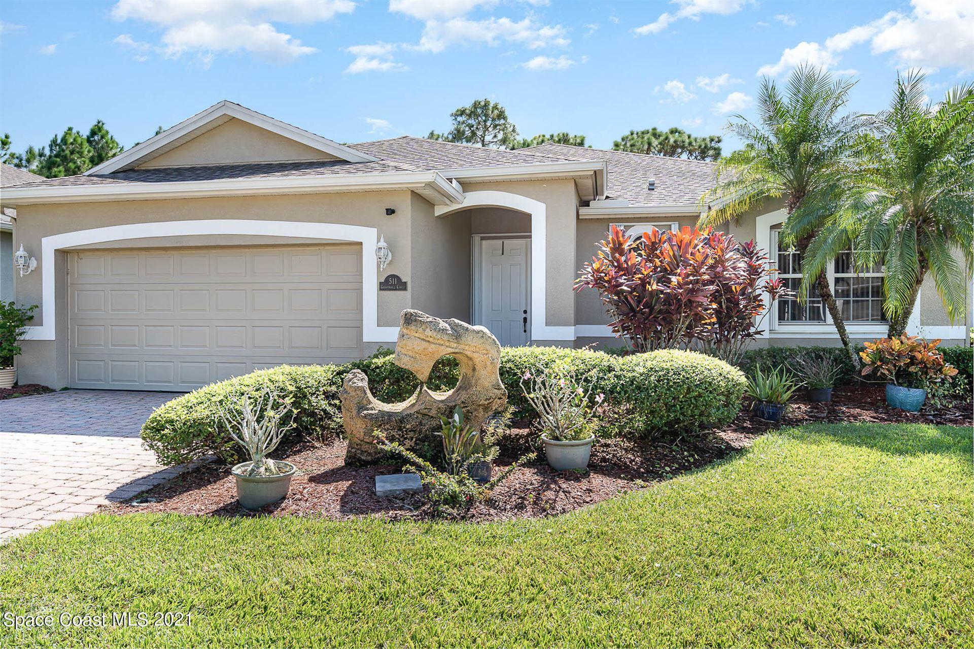 511 Gardendale Circle, Palm Bay, FL 32909 - #: 918260