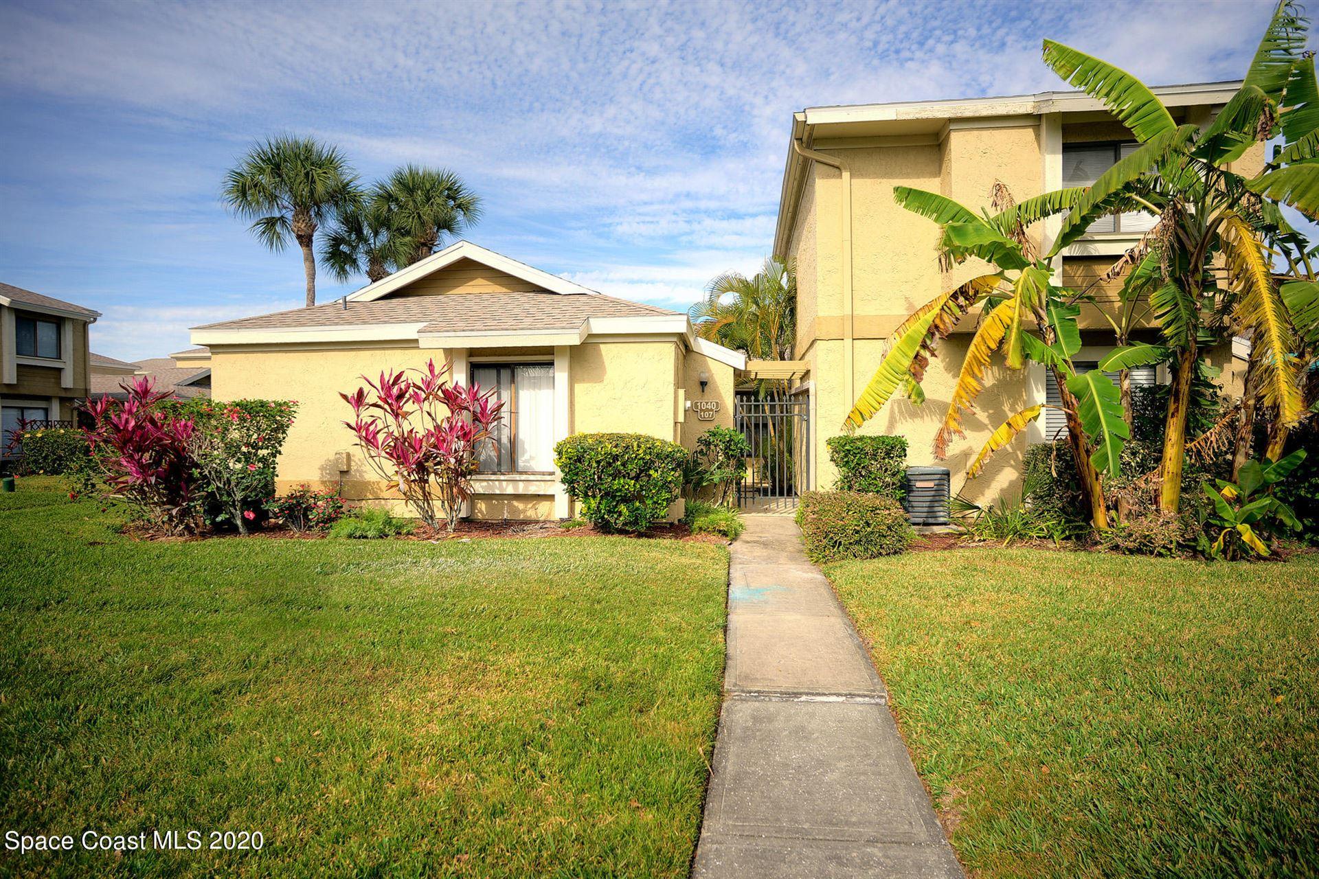 1040 Abada Court #107, Palm Bay, FL 32905 - #: 894264