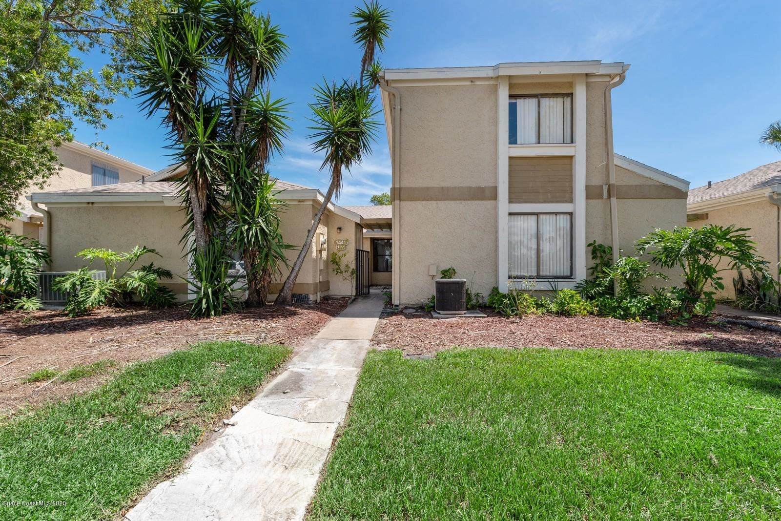 1441 NE Sheafe Avenue #103, Palm Bay, FL 32905 - #: 884285