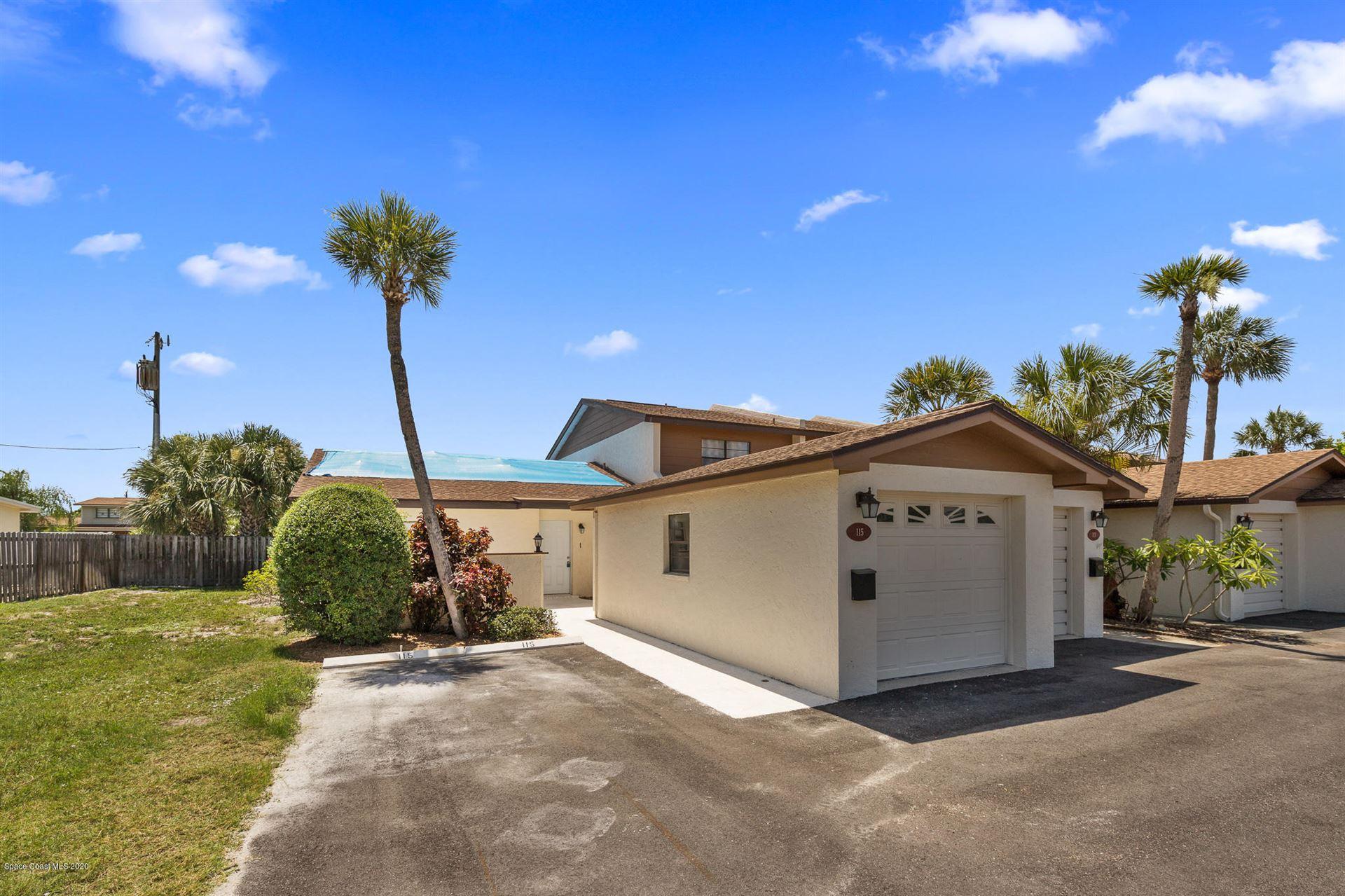 115 Kristi Drive #115, Indian Harbour Beach, FL 32937 - #: 881303