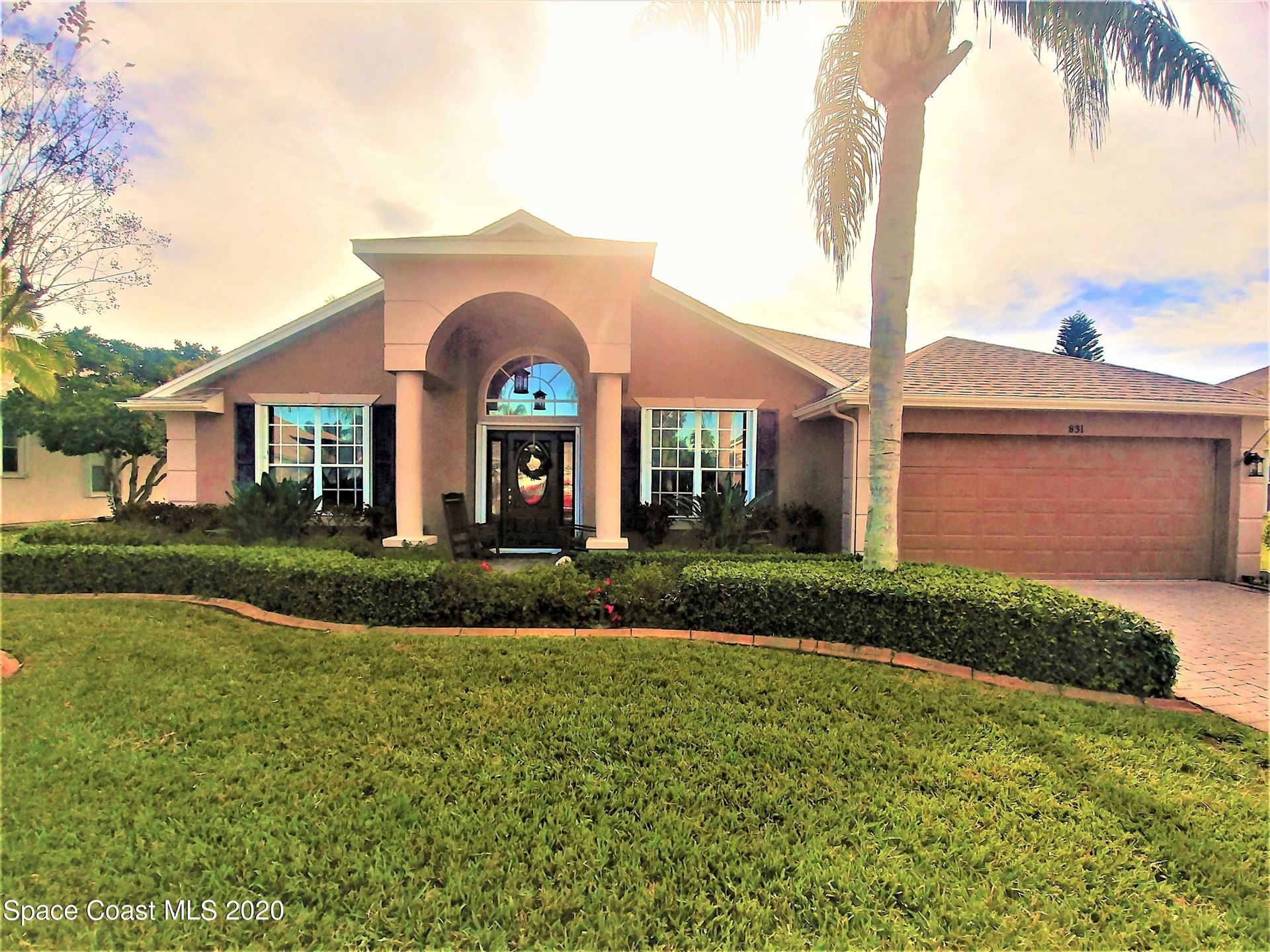 831 Carriage Hill Road, Melbourne, FL 32940 - #: 898310