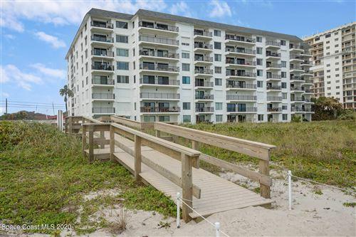 Photo of 650 N Atlantic Avenue #502, Cocoa Beach, FL 32931 (MLS # 893313)