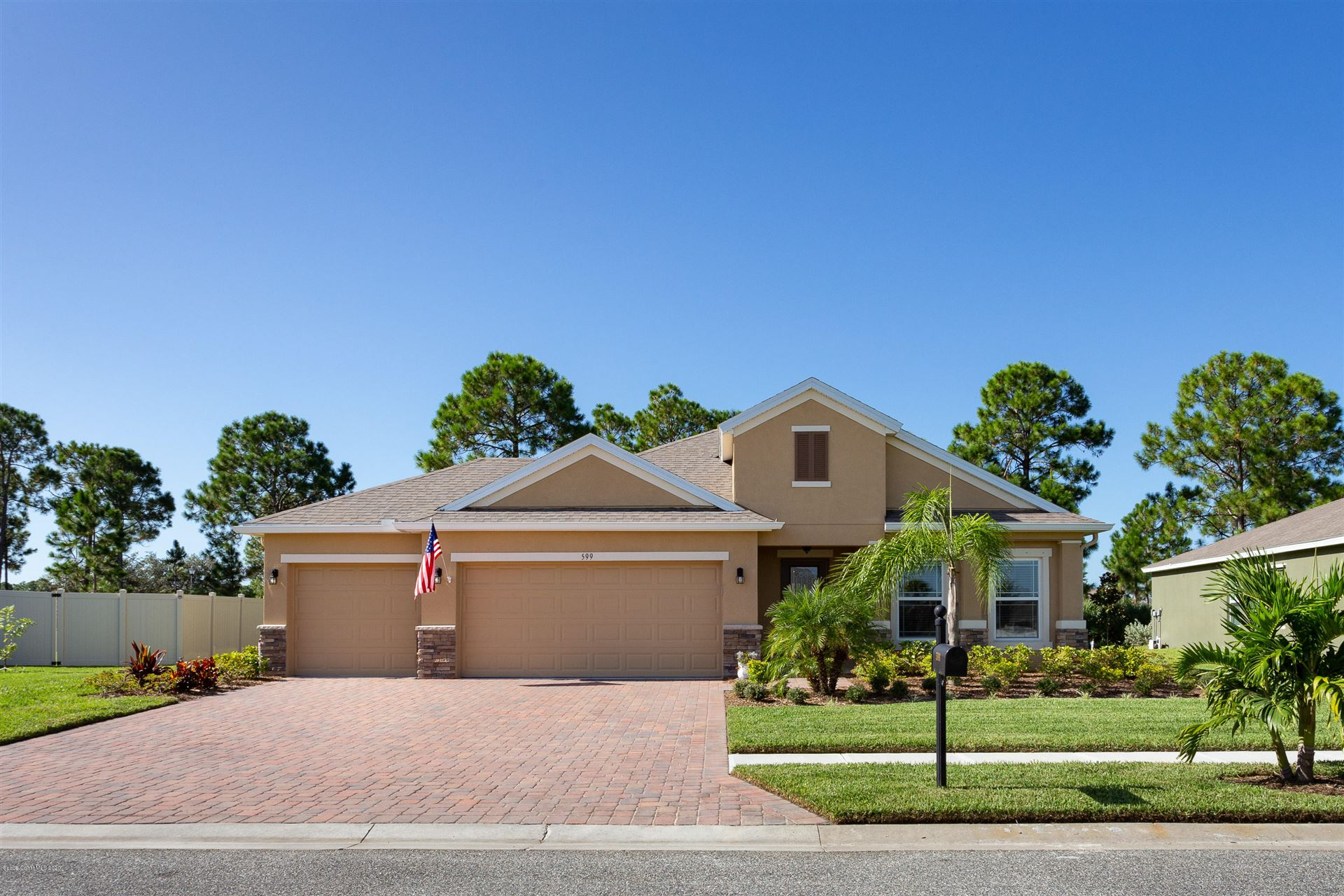 599 Easton Forest Circle, Palm Bay, FL 32909 - #: 884352