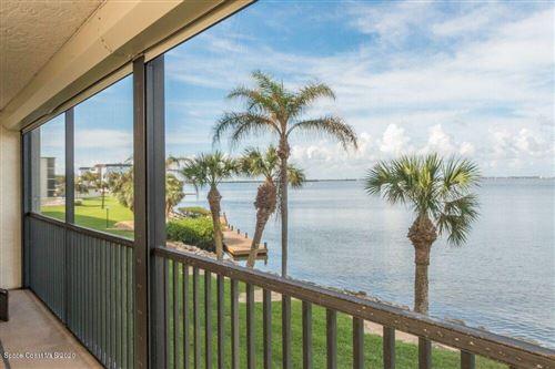 Photo of 3873 S Banana River Boulevard #209, Cocoa Beach, FL 32931 (MLS # 880362)