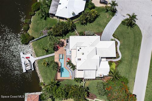 Photo of 100 Lanternback Island Drive, Satellite Beach, FL 32937 (MLS # 910371)