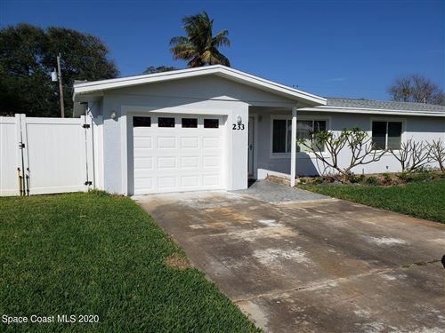 Tiny photo for 233 Curacau Drive, Cocoa Beach, FL 32931 (MLS # 897421)