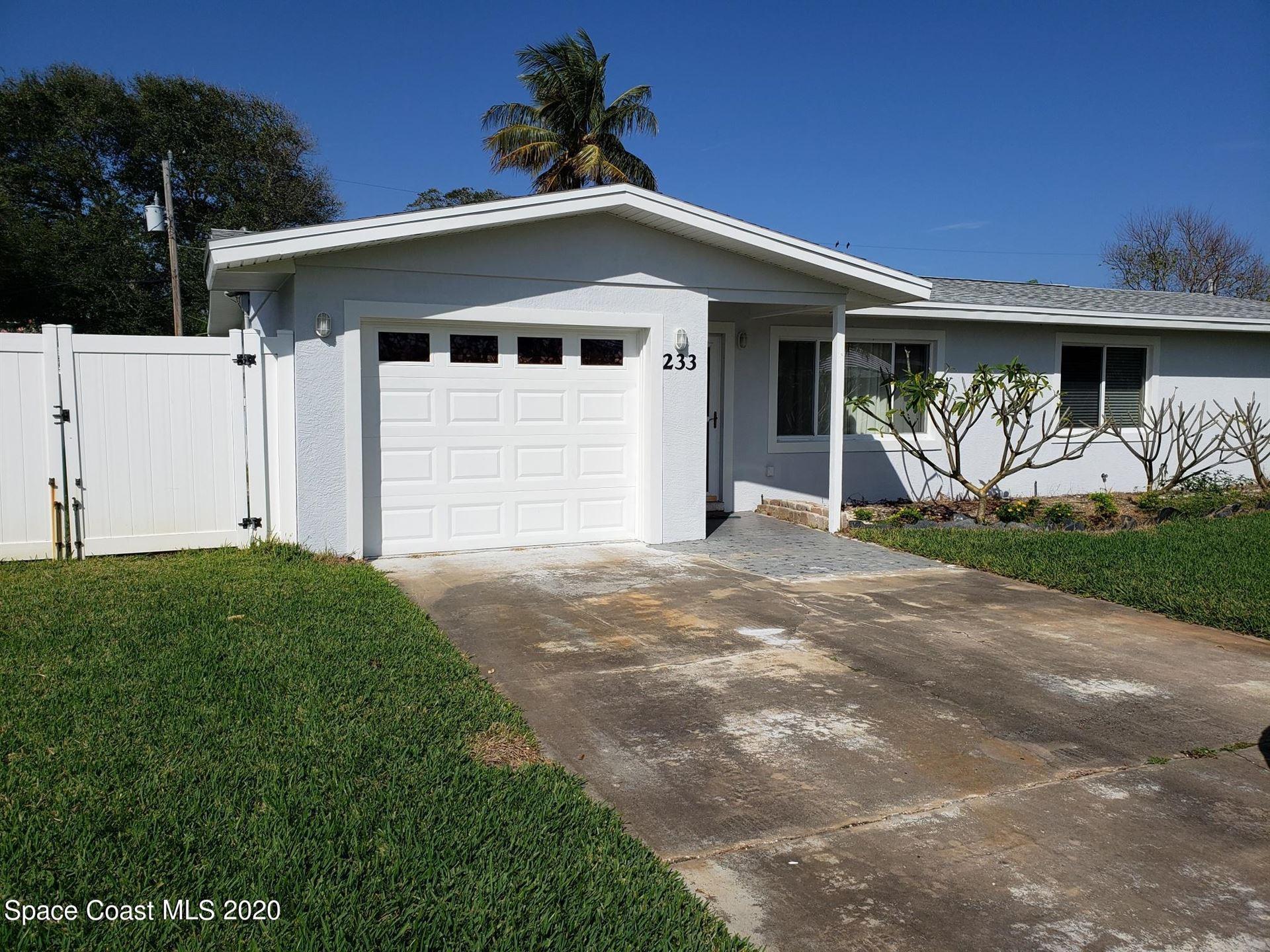 Photo for 233 Curacau Drive, Cocoa Beach, FL 32931 (MLS # 897421)