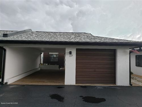 Photo of 733 Palm Springs Circle, Indian Harbour Beach, FL 32937 (MLS # 876452)