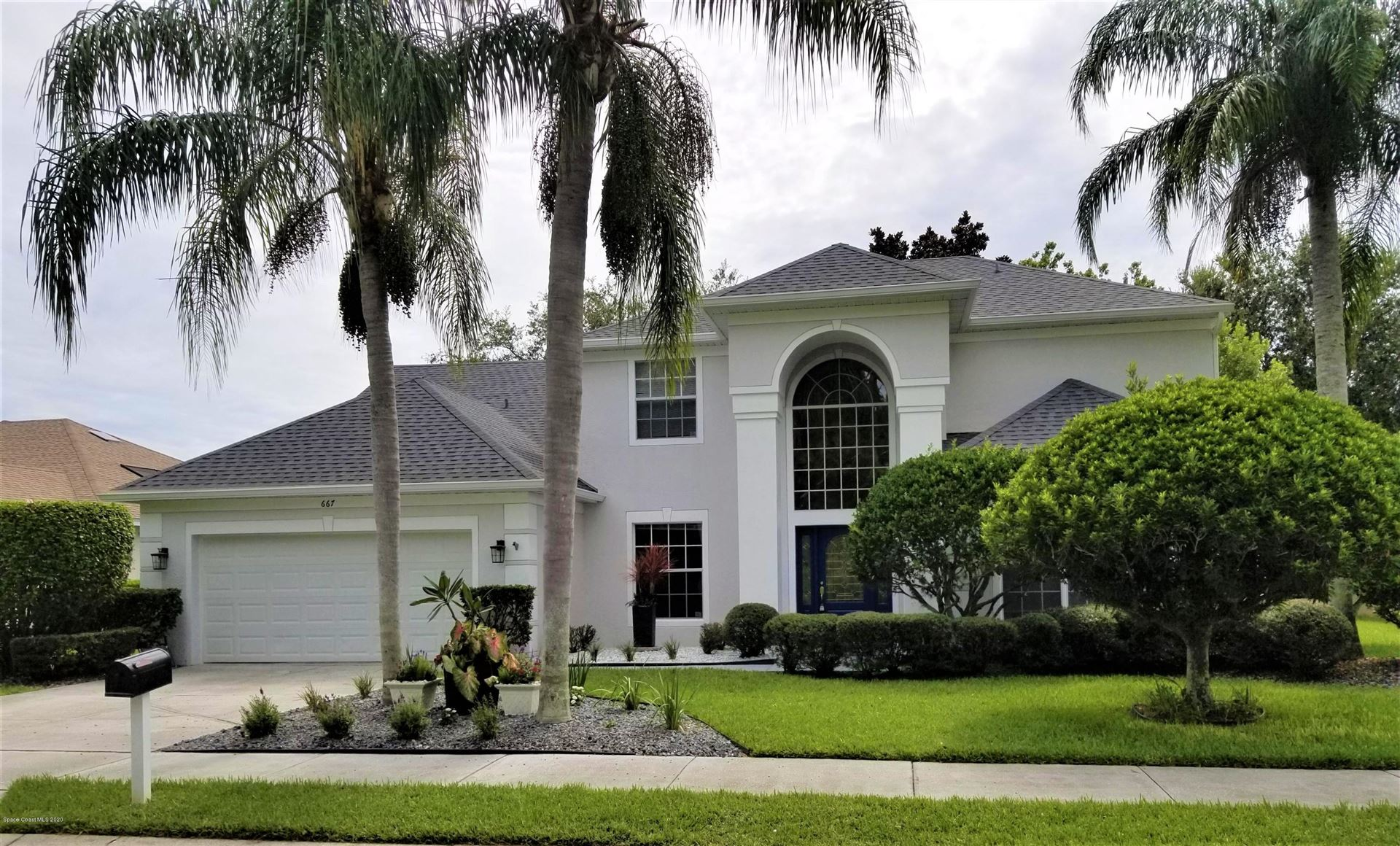 667 Autumn Glen Drive, Melbourne, FL 32940 - #: 881453
