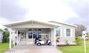 Photo of 435 Plover Drive, Barefoot Bay, FL 32976 (MLS # 857478)