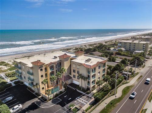 Photo of 1431 S Atlantic Avenue #402, Cocoa Beach, FL 32931 (MLS # 865478)