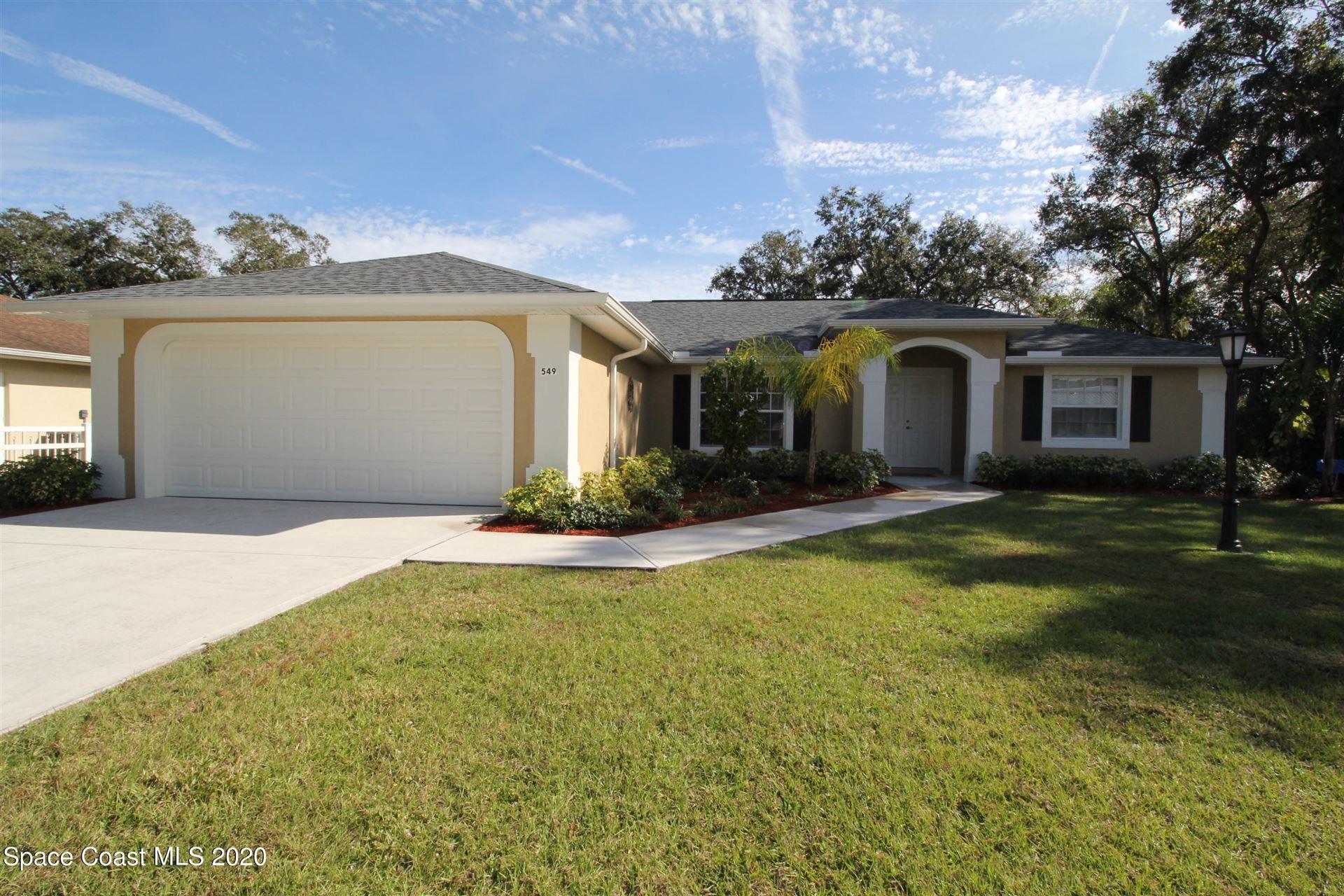 549 Picasso Avenue, Palm Bay, FL 32907 - #: 894481