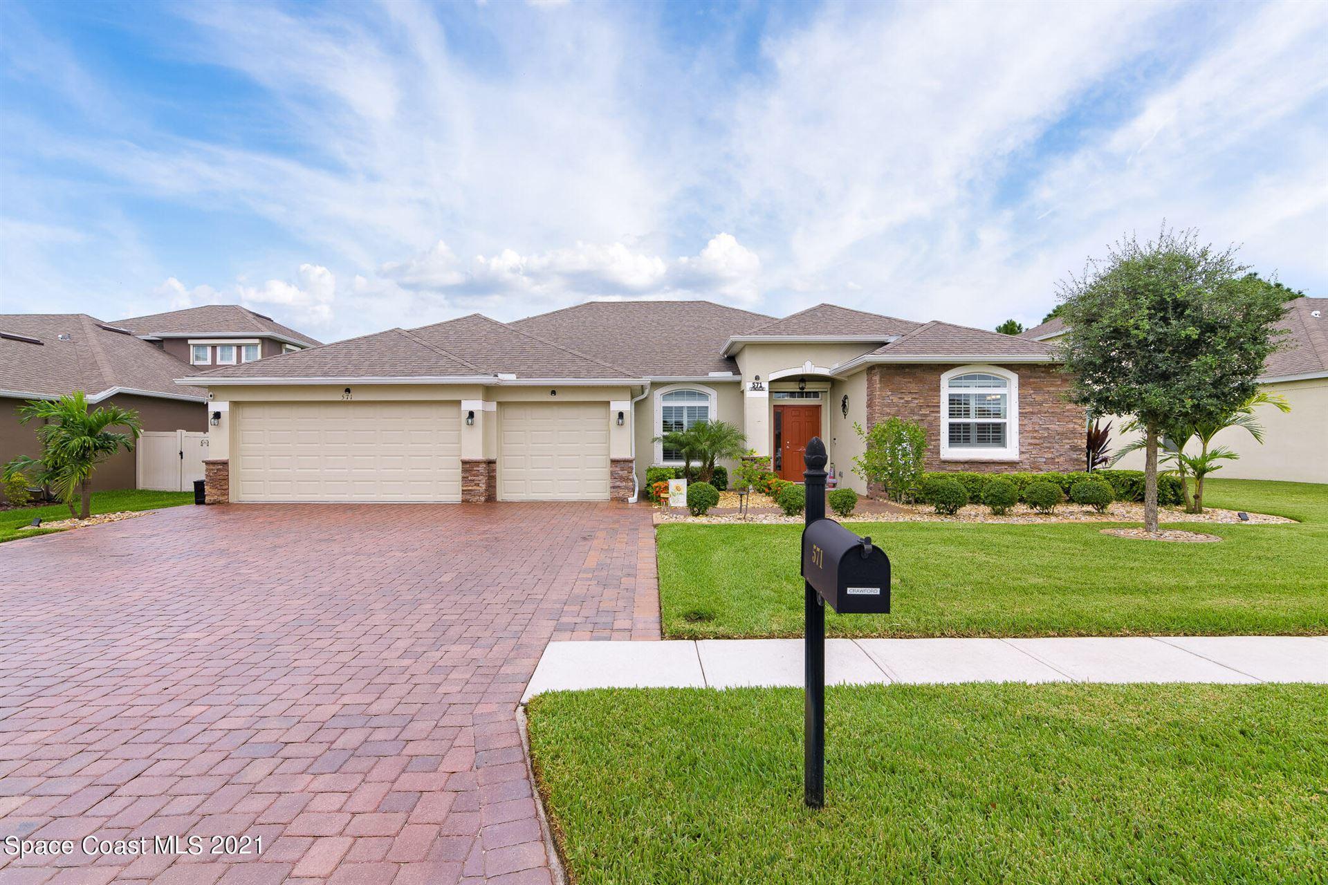 571 Stonebriar Drive, Palm Bay, FL 32909 - #: 915499