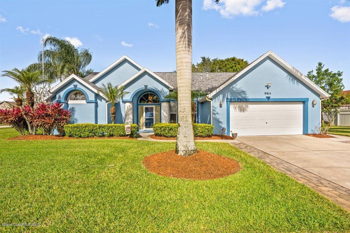 984 Pelican Lane, Rockledge, FL 32955 - #: 889503