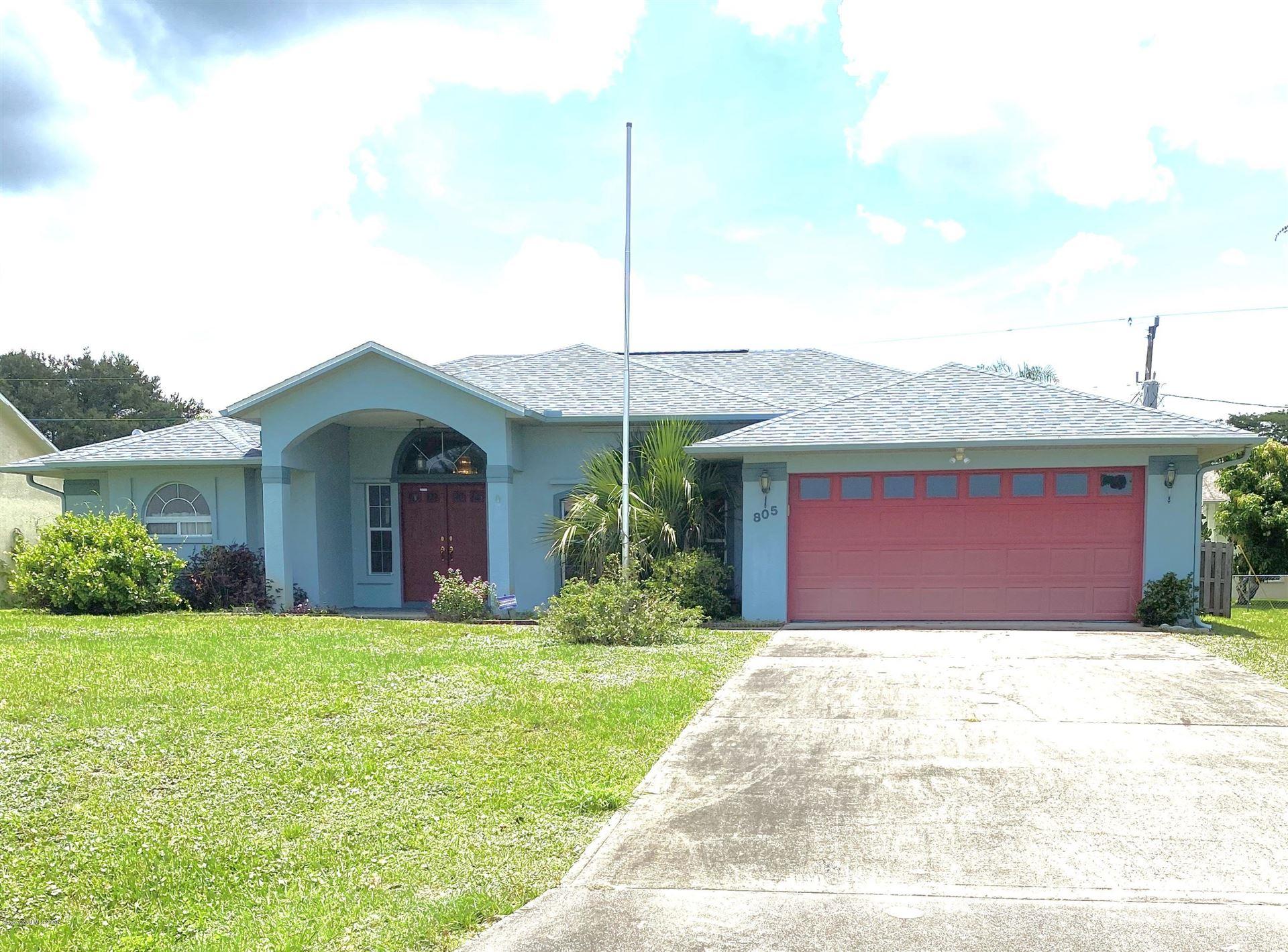 805 Seven Gables Circle, Palm Bay, FL 32909 - #: 880517