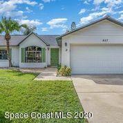 Photo of 857 Spirea Drive, Rockledge, FL 32955 (MLS # 888573)