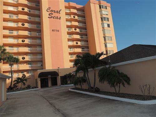 Photo of 6770 Ridgewood Avenue #504, Cocoa Beach, FL 32931 (MLS # 881581)