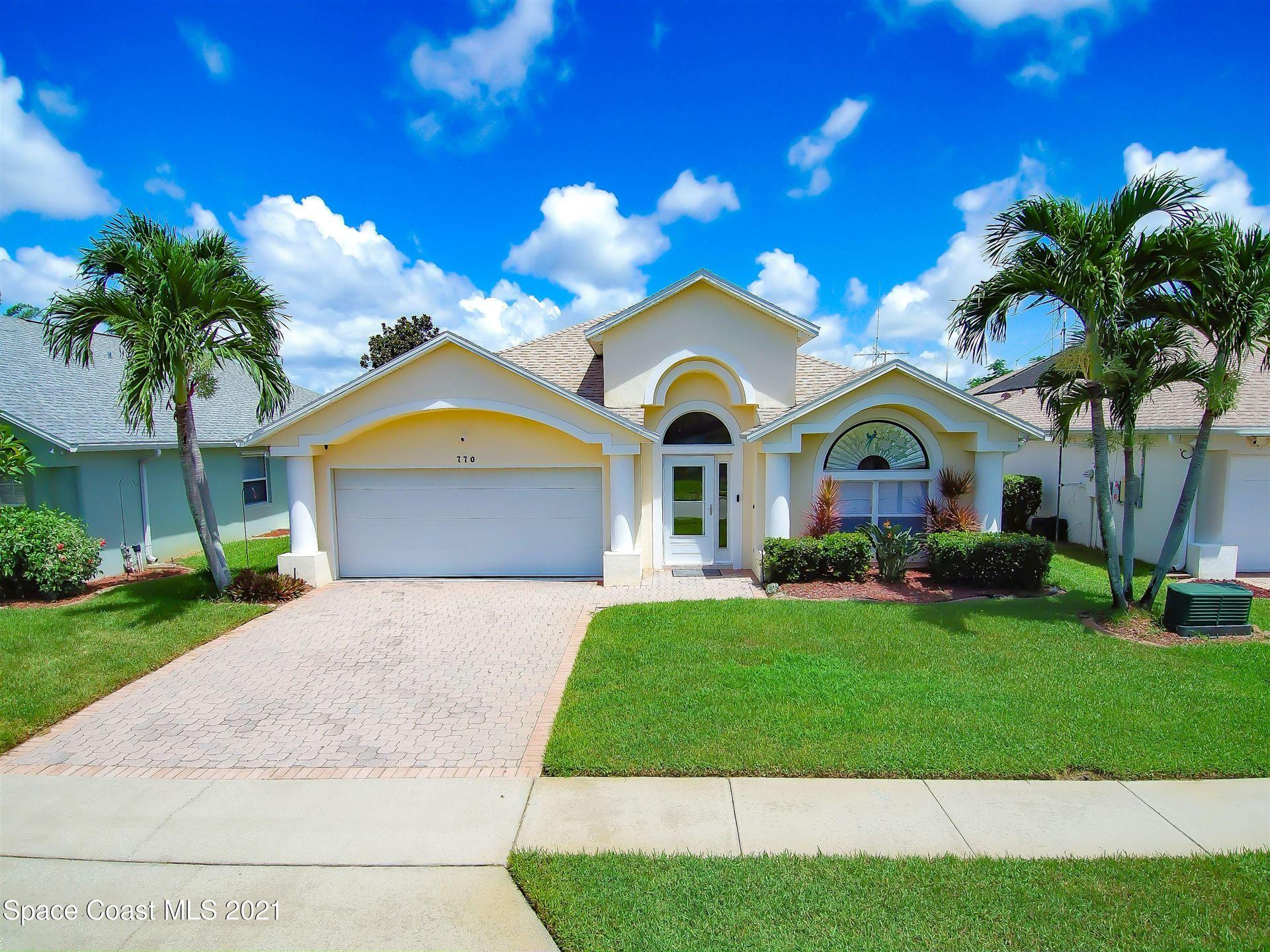 770 Sunset Lakes Drive, Merritt Island, FL 32953 - #: 913594