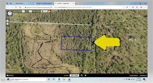 Photo of 0000000 No Access 1 Lot Off Beekeeper, Grant Valkaria, FL 32950 (MLS # 866599)