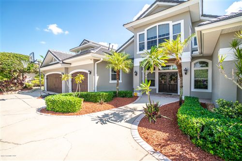 Photo of 123 Island View Drive, Indian Harbour Beach, FL 32937 (MLS # 886609)